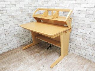 カリモク karimoku 学習机 デスク ブックスタンド付き SA3030HN ナチュラルデザイン ●