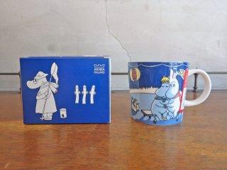 アラビア ARABIA ムーミン マグカップ スノーランタン 2007年 冬限定 箱付き ♪