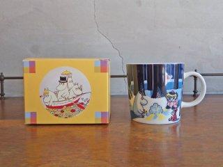 アラビア ARABIA ムーミン マグカップ ウィンターボンファイヤー 2008年 冬限定 箱付き ♪