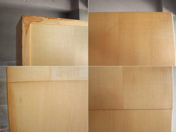 北欧スタイル オープンシェルフ トールシェルフ 3分割式 ビーチ材 ナチュラル シンプル ♪