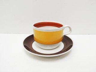 ロールストランド Rorstrand フォーカス FOKUS コーヒー カップ&ソーサー C&S 北欧食器 ●
