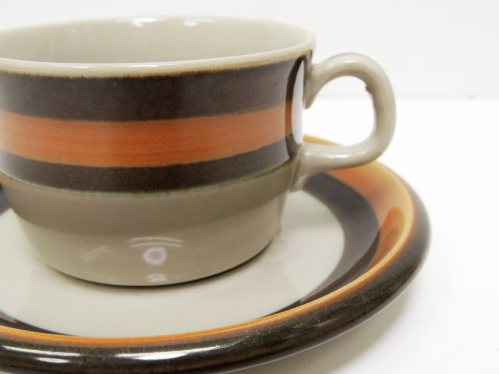 ロールストランド Rorstrand アニカ Annika コーヒー カップ&ソーサー C&S 北欧食器 A ●