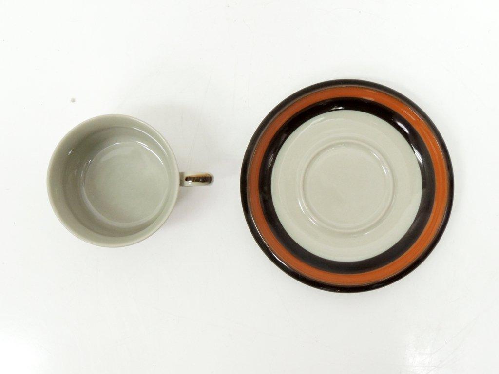 ロールストランド Rorstrand アニカ Annika コーヒー カップ&ソーサー C&S 北欧食器 B ●
