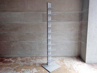 シンテシ SINTESI タワー型シェルフ サピエンスブックタワー ブルーノ・レイナルディ イタリア 本棚 グレー ♪