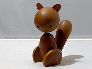 ロイヤルペット ROYALPET リス SQUIRREL 木製玩具 千趣会 ■