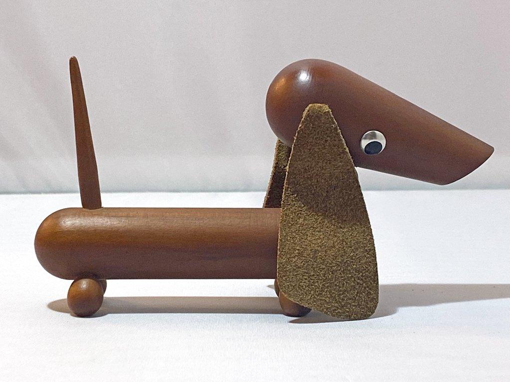 ロイヤルペット ROYALPET ダックスフンド DUCHSHUNT 木製玩具 千趣会 ■