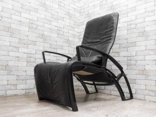 Interprofil フェルナンドA.ポルシェ Ferdinand A. Porsche IP 84S ラウンジチェア Lounge chair 本革 80sビンテージ モダン 希少 ●