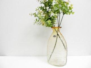Blenko Glass Company ガラス フラワーベース USビンテージ 手吹き ●