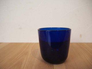 ヌータヤルヴィ Nuutajarvi カイフランク Kaj Franck #5023 タンブラーグラス ブルー ★