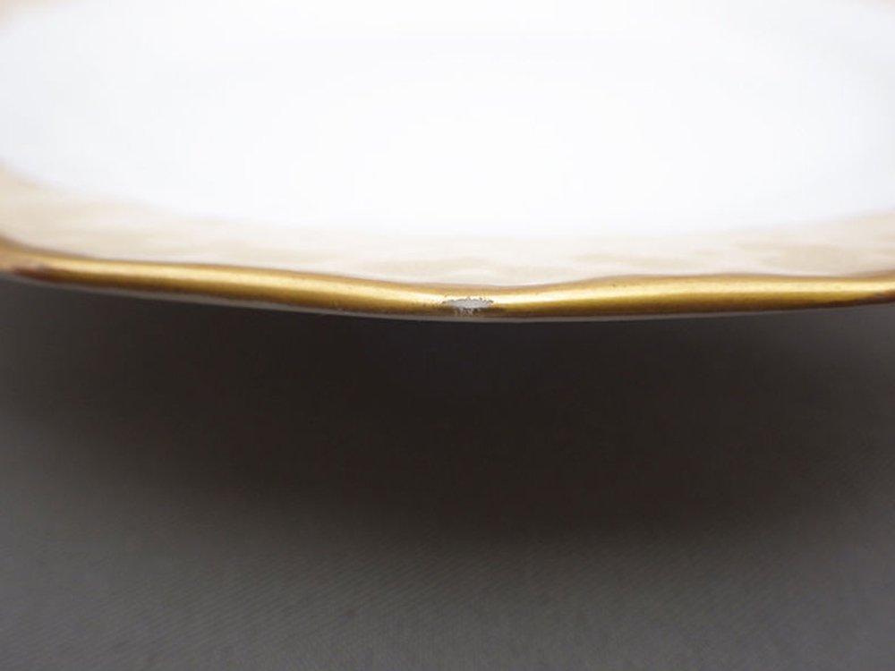 ロイヤルコペンハーゲン Royal Copenhagen 金彩 ケーキプレート 15.5cm デンマーク 1944年 ビンテージ 北欧食器 B ●