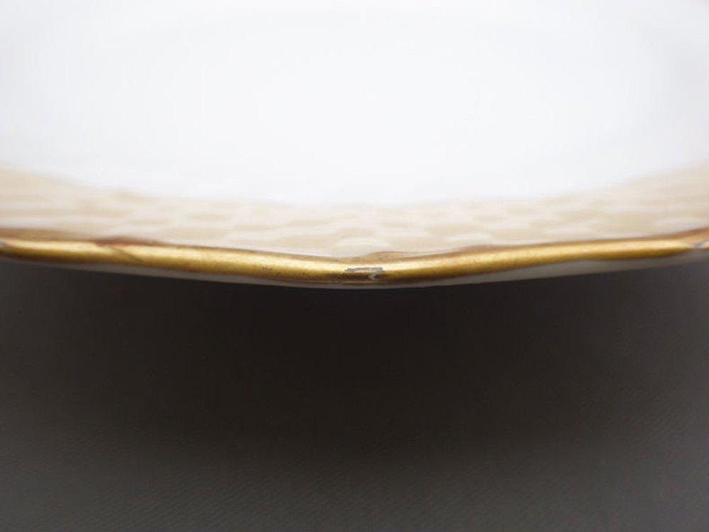 ロイヤルコペンハーゲン Royal Copenhagen 金彩 ケーキプレート 15.5cm デンマーク 1944年 ビンテージ 北欧食器 E ●