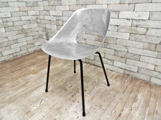 メゾンデュモンド Maisons du Monde チューリップチェア Tulip Chair 鋳造アルミニウム合金製シート 名作復刻廃番品 ピエール・ガーリッシュ Pierre Guariche ●