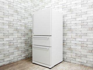 無印良品 MUJI バーハンドル ノンフロン冷蔵庫 M-R25B 3ドア 246L 2008年製 深澤直人デザイン 廃番品 ●