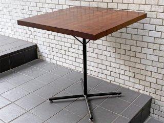 ジャーナルスタンダードファニチャー journal standard Furniture サンク SENS スクエア カフェテーブル 無垢天板 ■