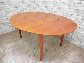 デパドヴァ Depadova バタフライ ダイニングテーブル オーバル型 チェリー材 カッシーナ取扱 ●