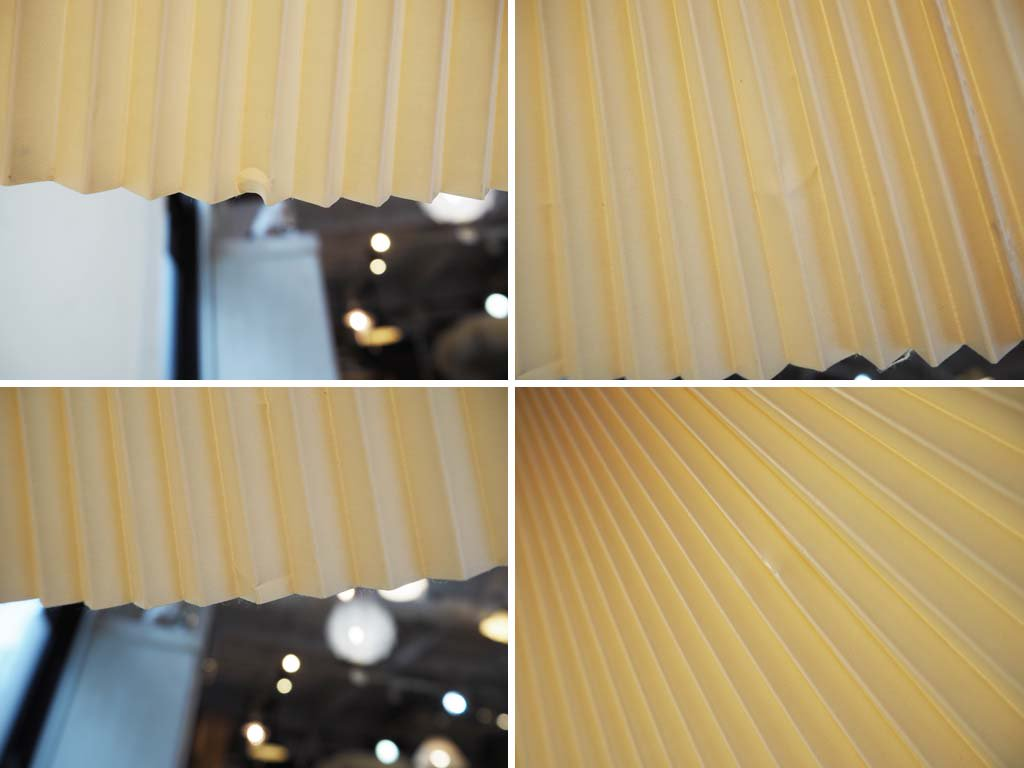北欧スタイル ビンテージ ペンダントライト ビーチ材ハンドル コーティングペーパー 高さ調整可能 ダイニング ★