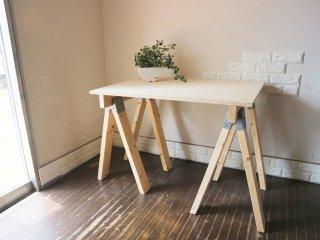 パシフィックファニチャーサービス P.F.S. Pacific Furniture Service 木製 ワークテーブル アトリエテーブル ◎