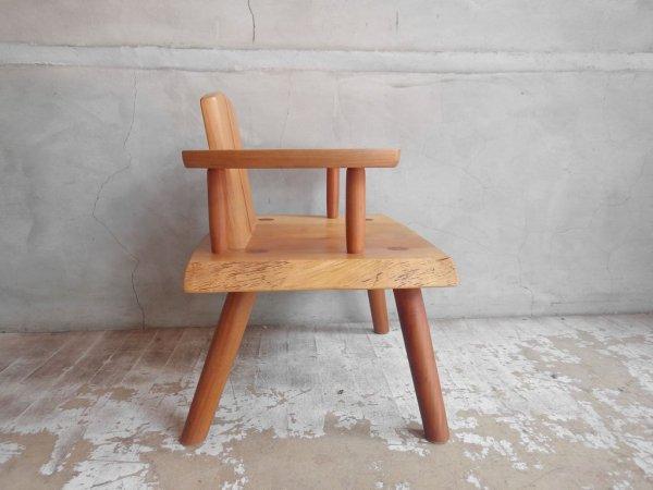 飛騨 家具工房 雉子舎 kijiya 子供椅子 キッズチェア ウォールナット無垢材 ♪