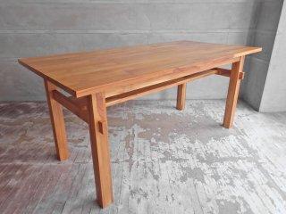 ウニコ unico ブレス BREATH ダイニンクテーブル チーク材 幅160cm 天然木無垢材シリーズ ♪