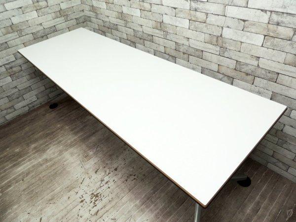 ウィルクハーン Wilkhahn ロゴン Logon ワーキングデスク ミーティングデスク ワークテーブル A ●