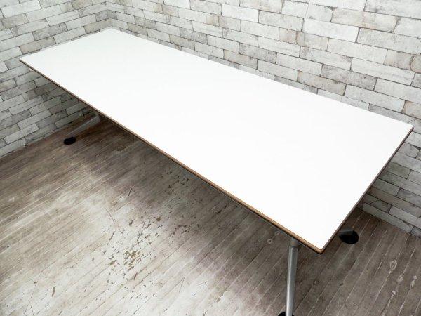 ウィルクハーン Wilkhahn ロゴン Logon ワーキングデスク ミーティングデスク ワークテーブル B ●
