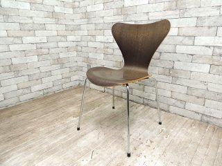 フリッツハンセン Fritz Hansen セブンチェア Seven Chair ダークステインドオーク アルネヤコブセン Arne Jacobsen ●