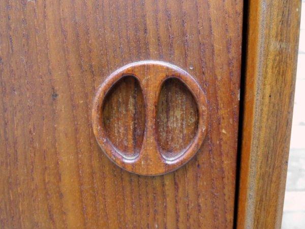 北欧ビンテージ チーク材 サイドボード キャビネット Sideboard cabinet 北欧ミッドセンチュリー ロイズアンティークス購入品 ●