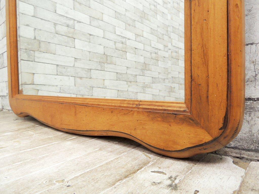 イーセンアーレン ETHAN ALLEN ビンテージ ウォールミラー 鏡 米国 クラシカルデザイン ●