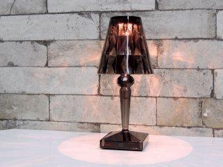 カルテル Kartell バッテリー Battery テーブルランプ スモーク LED 充電式 イタリア ●