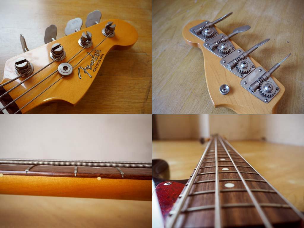 フェンダー ジャパン fender Japan プレシジョンベース Precision Bass PB62-65 日本製 1995年 サンバースト ★