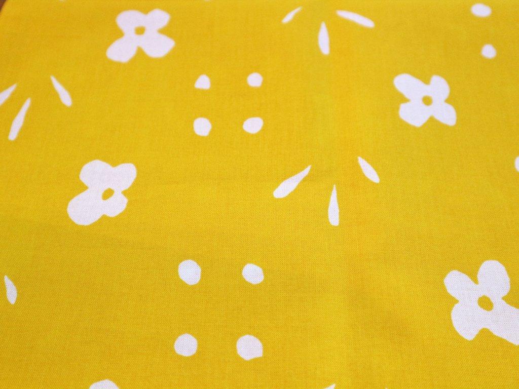 マリメッコ marimekko クッカケト kukkaketo ビンテージ ファブリック イエロー レアカラー 144×50cm ◎