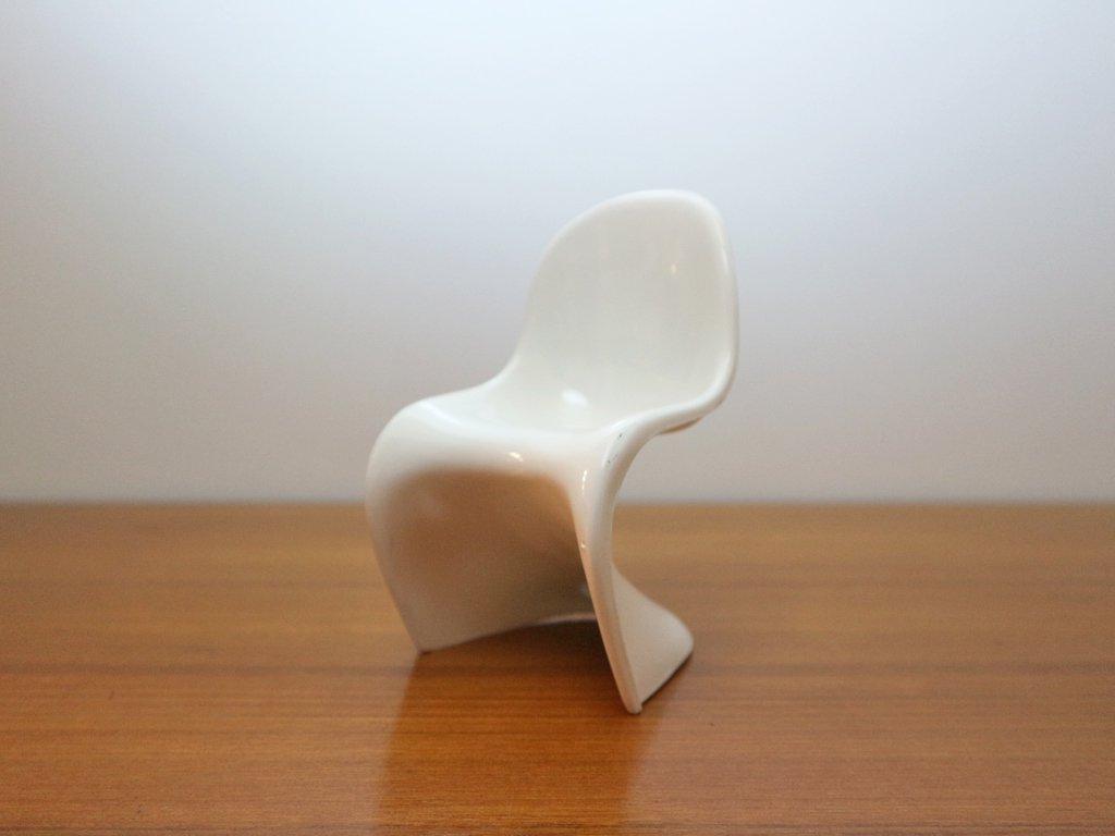 ヴィトラ デザイン ミュージアム Vitra Design Museum ミニチュア パントンチェア Panton Chair 5色セット 1/6サイズ 箱付き ◎