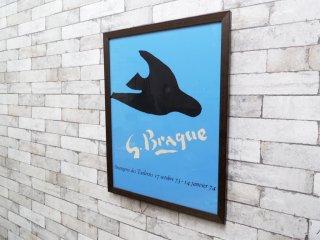 ジョルジュ・ブラック Georges Braque オランジュリー・デ・ティルリー ORANGERIE DES TUILERIES  ポスター 額装品 ●