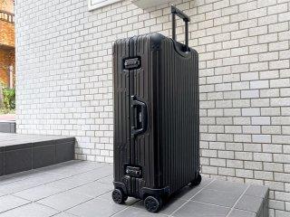 リモワ RIMOWA トパーズ ステルス TOPAS STEALTH 85L ブラック スーツケース キャリーケース 4輪 マルチホイール TSAロック ■