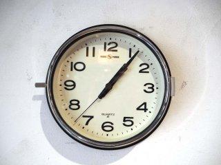 パシフィックファニチャーサービス PACIFIC FURNITURE SERVICE  セイコークロック SEIKO WALL CLOCK 都バス 防塵 壁掛け時計  OC143 ★