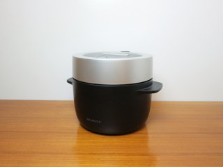 バルミューダ BALMUDA ザ ゴハン The Gohan 3合炊き 炊飯器 KO3A-BK  ◎