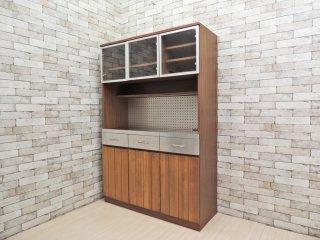 ウニコ unico ストラーダ STRADA キッチンボード レンジボード 食器棚 W120cm ●