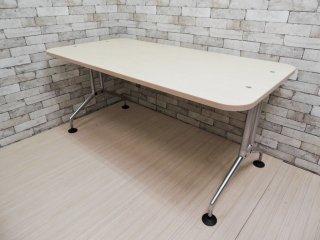 ヴィトラ Vitra アドホック Ad Hoc ワーキングデスク ミーティングテーブル アントニオ・チッテリオ デザイン W160cm ●
