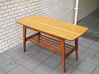 カリモク60 karimoku60 リビングテーブル Sサイズ ウォールナットカラー デコラトップ ミッドセンチュリー ■