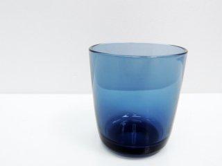 アラビア ARABIA オマ oma グラス ブルーベリーブルー ハッリ・コスキネン 廃盤希少品 A ●