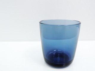 アラビア ARABIA オマ oma グラス ブルーベリーブルー ハッリ・コスキネン 廃盤希少品 B ●