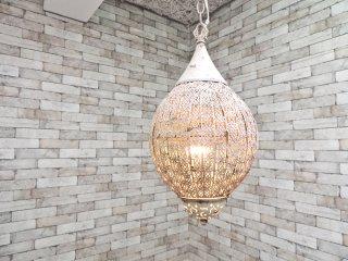 モロッコ ビンテージスタイル ペンダントランプ シャビーシック  ●