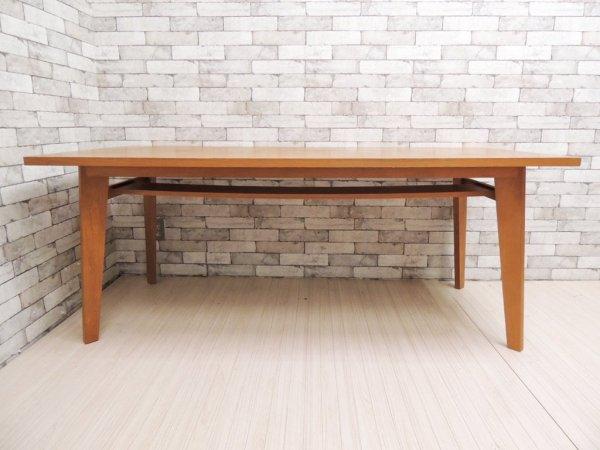 ウニコ unico コルソ CORSO オーク材 ダイニングテーブル 幅180cm 廃番 北欧ビンテージスタイル ●