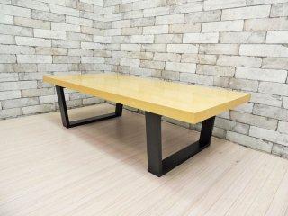 ランドスケープ プロダクツ LANDSCAPE PRODUCTS スクエアレッグテーブル SQUARE LEGS TABLE ローテーブル 廃盤品 ●