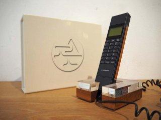 アマダナ amadana ベーシック電話機 DU-119 アクリル×ウォルナットクレードル REAL FLEET ★