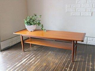 北欧ビンテージ Scandinavian vintage チーク材 センターテーブル ローテーブル コーヒーテーブル ◎