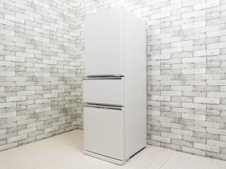 三菱 MITSUBISHI ノンフロン冷凍冷蔵庫 MR-CX27D-W 272L ホワイト 2019年製 ●