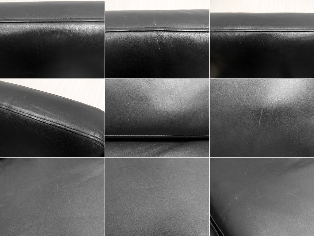 ゲタマ GETAMA GE290 3シーター ソファ 本革 オーク材 ハンス・J・ウェグナー デンマーク製 ヴィンテージ 北欧家具 ●