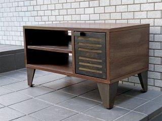 ジャーナルスタンダードファニチャー journal standard Furniture シノン AVボード CHINON TV BOARD インダストリアルスタイル 廃盤 ■