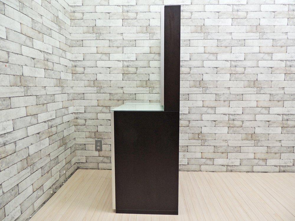 IDC大塚家具 IDC OTSUKA ザガート ドレッサー 鏡台 スツール付き 高級モダン ●